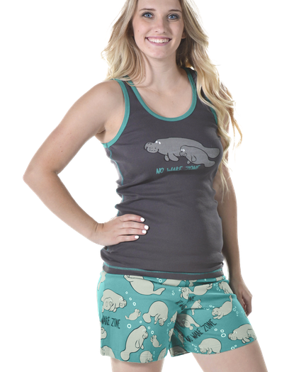 e5c272f3f4 Women s Tank and Boxer PJ Sets - Funny