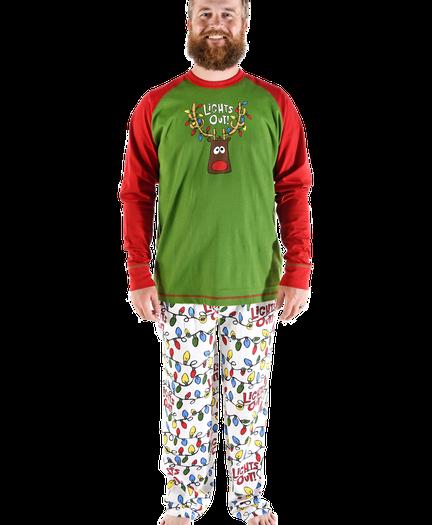f1305f05e2c7 Lights Out Family Matching Pajamas by LazyOne