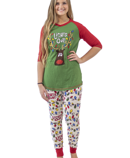 2c34d63cee Lights Out Family Matching Pajamas by LazyOne