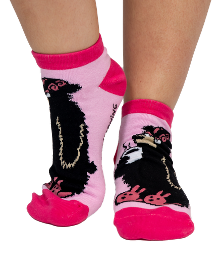 3bcfe80fdce31 Bear in the Morning | Women's Slipper Sock image