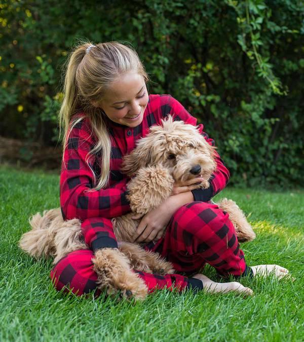 Matching Dog & Family Pajamas