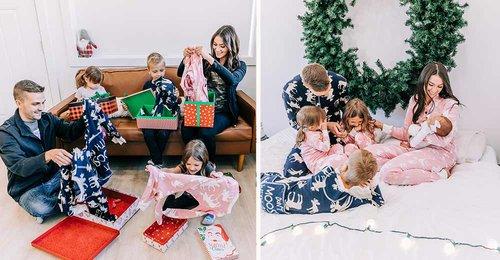 Matching family pajamas 2