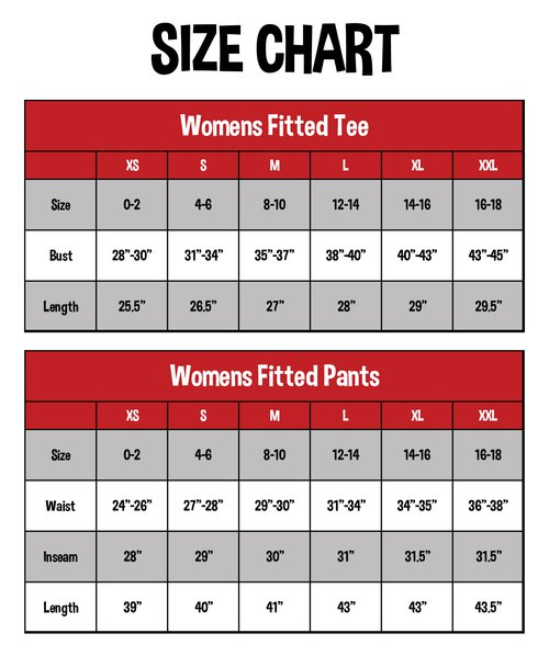 Fitted Sets | Women's Tall Tee & Pants