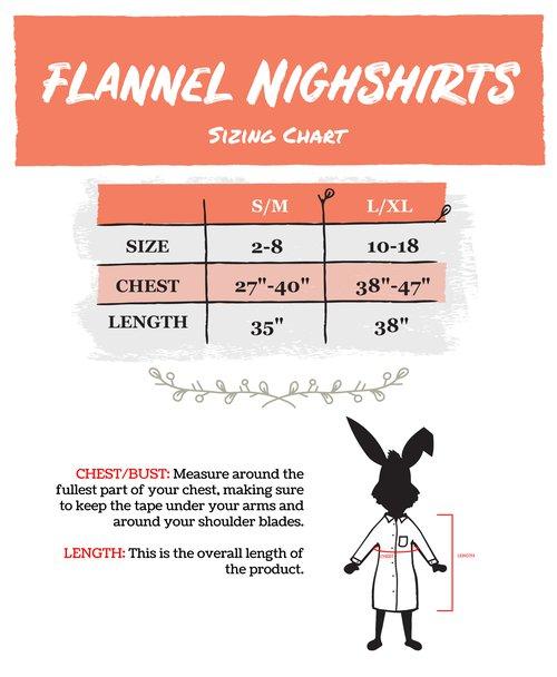 Nightshirts - Flanne