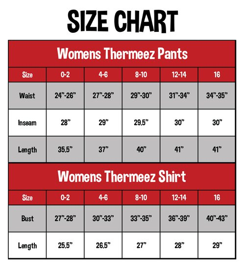 Thermal Sets | Women's Shirt & Pant