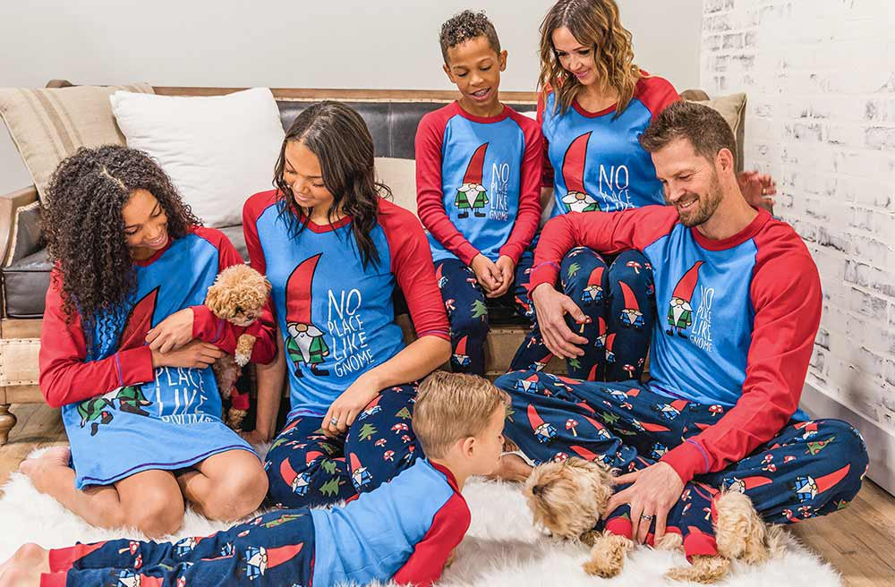 The LazyOne Guide to Family Matching Pajamas