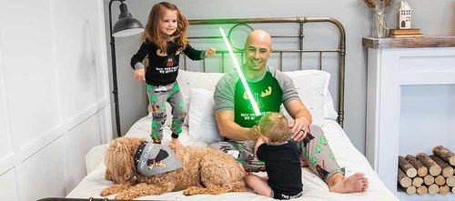 Daddy and Me pajamas