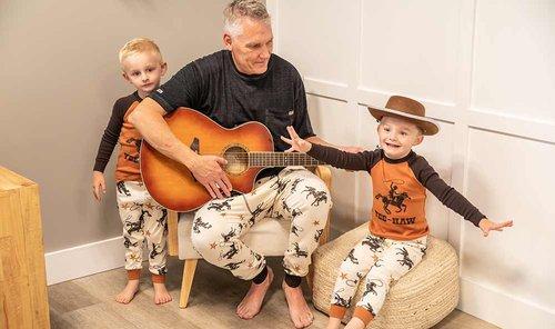 Yee-Haw Cowboy Pajamas