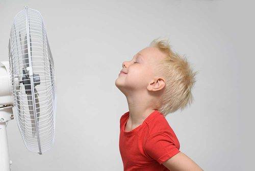 fan to keep cool