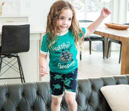 Kids Summer Pajamas
