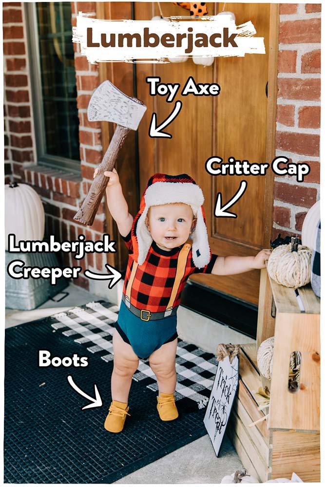 Baby Lumberjack pajamas