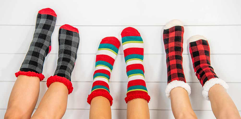 Plush Socks - Complete Comfort!