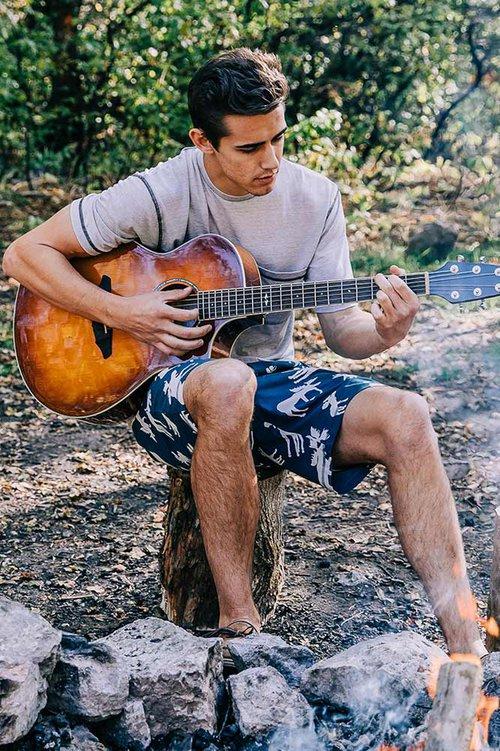 Summer Mens Pajama Shorts