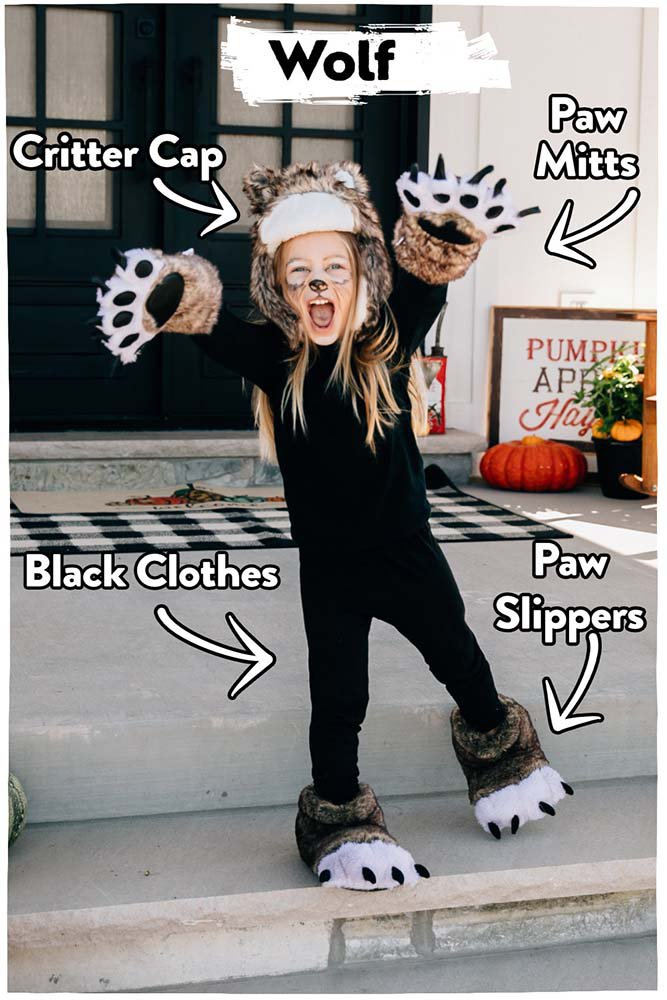 Wolf Costume with LazyOne