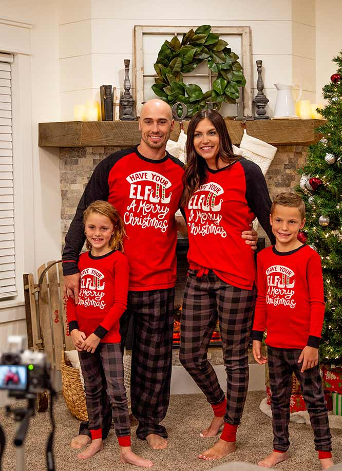 Matching Christmas Pjs.Lazyone Funny Pajamas And Gifts For Men Women And Kids