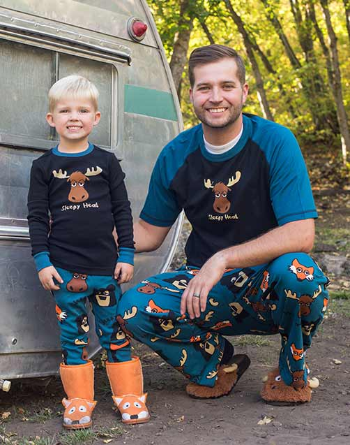 Clearance Sleepy Head Pajamas -  Father and Son