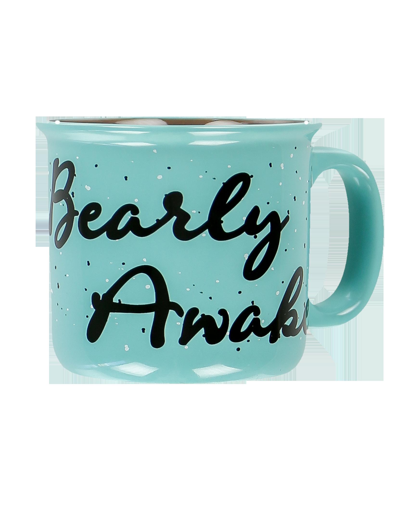 Lazyone Bearly éveillés Mug Céramique