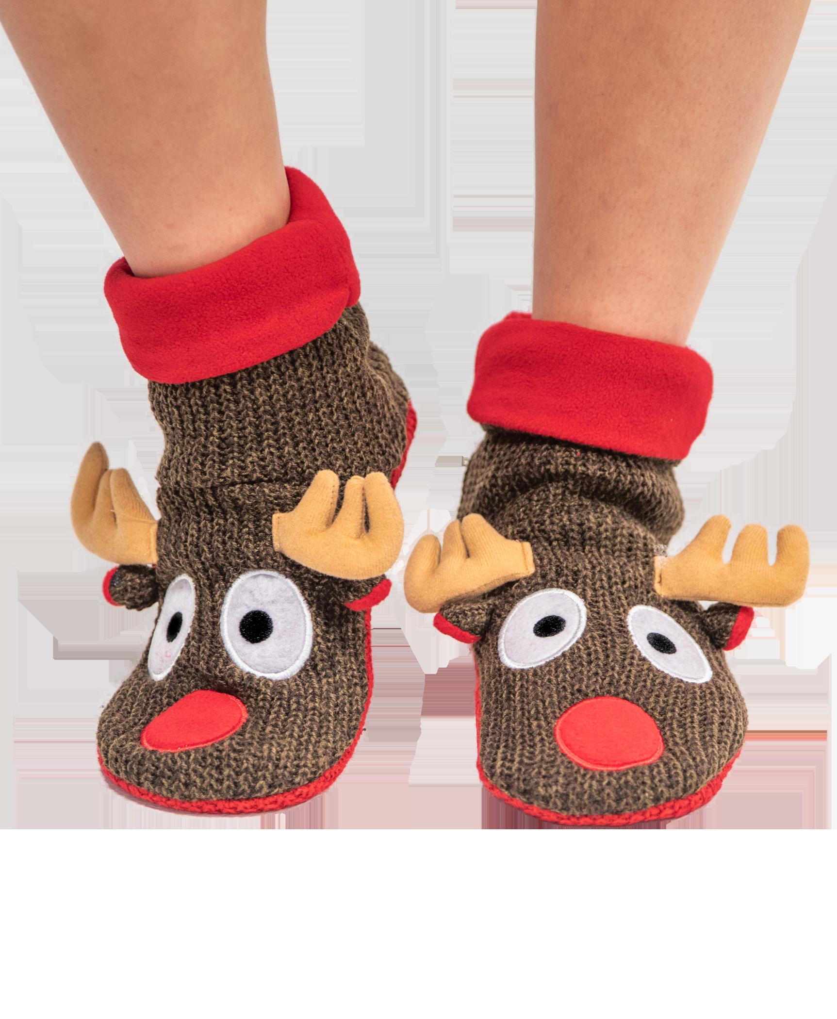 Lazy One~Kid/'s Slipper Socks~ No Slip~size 7-9